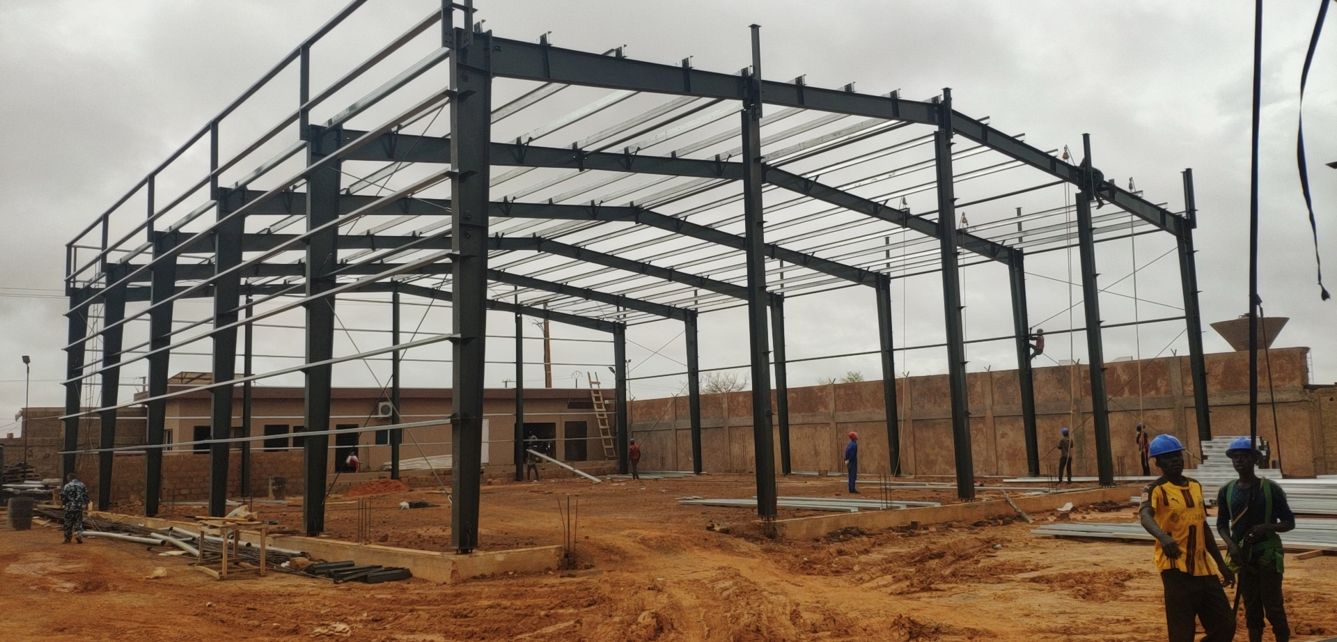 Steel Warehouse in Niger