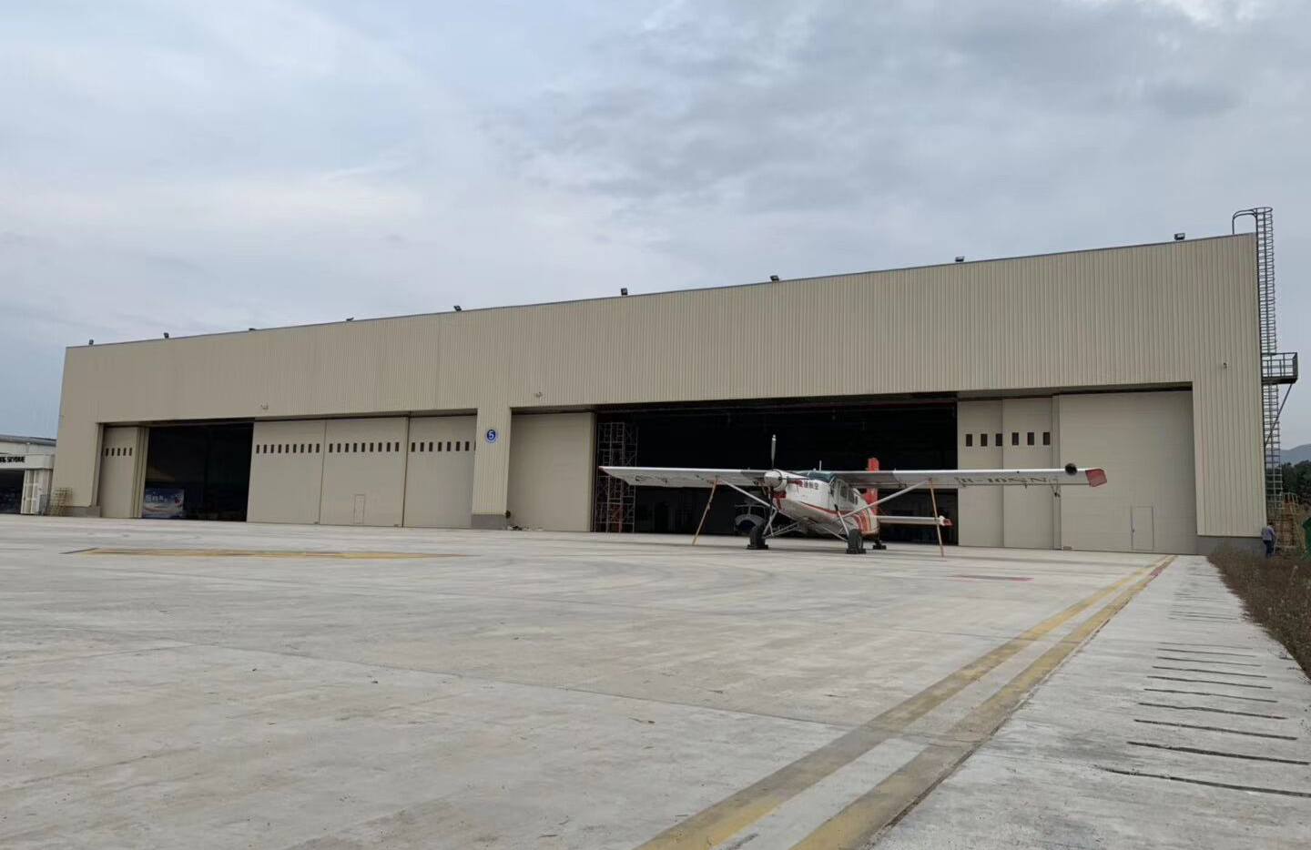Aircraft Hangar Project in Jordan